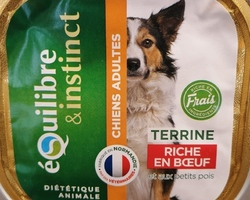 Terrine-chiens adultes-Fidele&compagnie